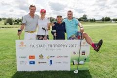 19. Stadler Trophy am 15.09.2017 im Golfclub Eschenried, Markt Indersdorf, Bayern. Foto: Andreas Gebert
