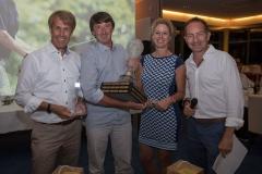 Sieger Tennisspieler Bernd Karbacher, 20. Stadler Golf Trophy 2018, Golf, 11.06.2018